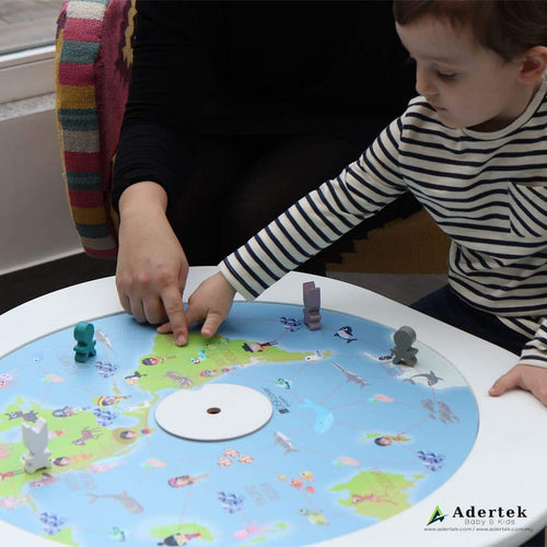 Learn about geography and ethnicity through board game