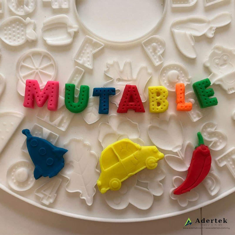 120 designs to mould your child favourite shape and sizes with play dough.