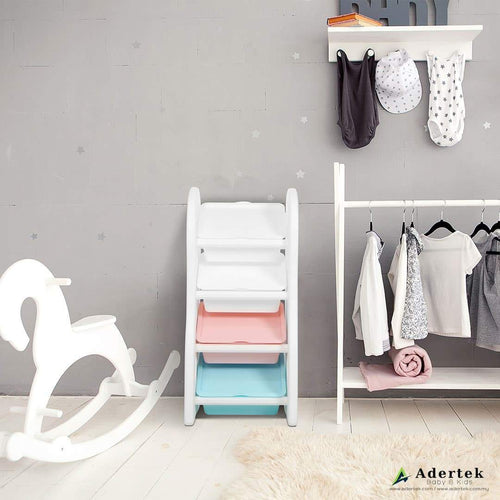 Pastel Compact Organizer series suitable for use in baby or play room.