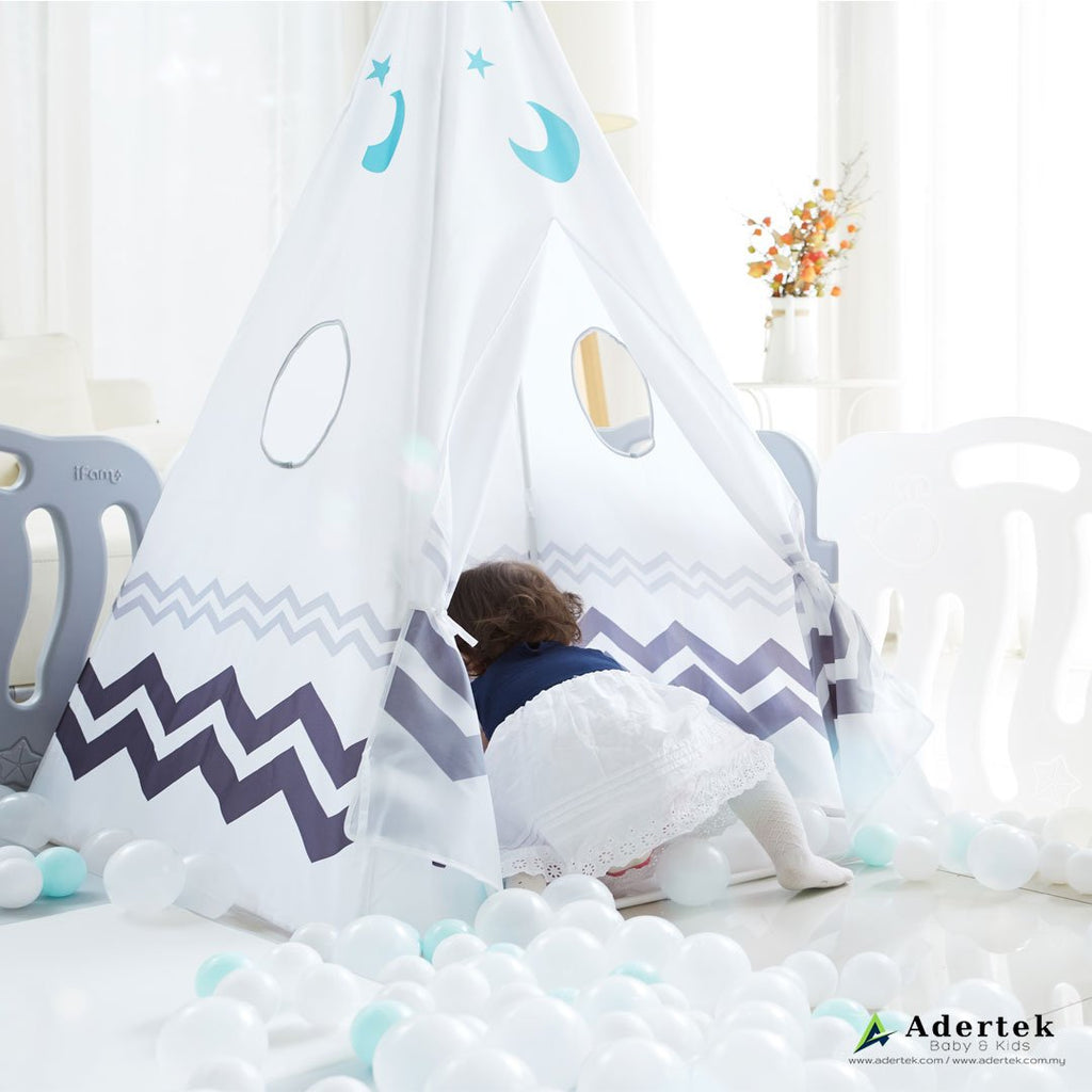 Cozy place for your little one to play, relax and express their emotions in a private space