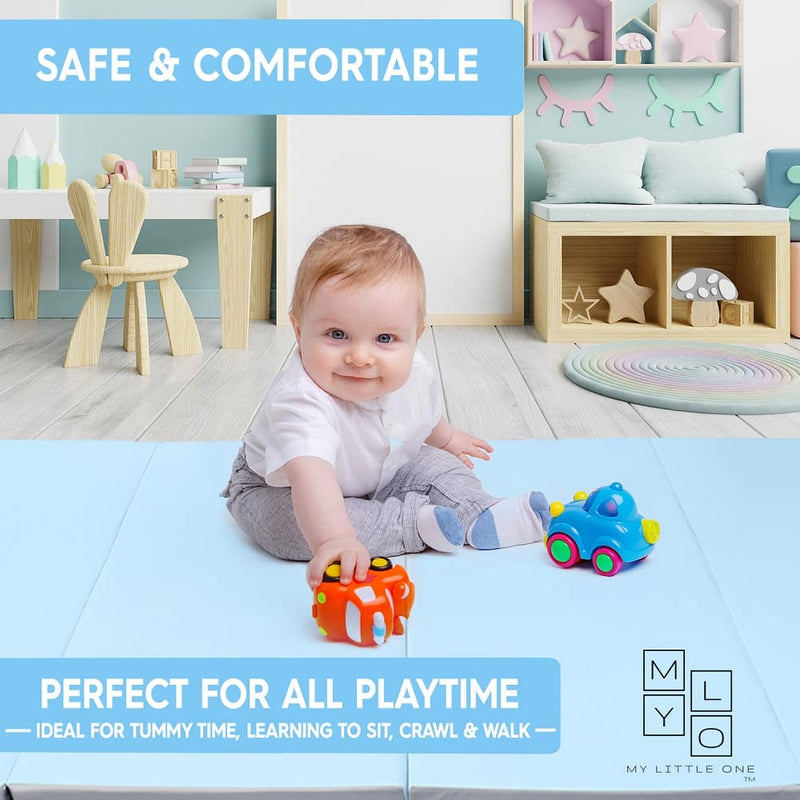Peace of mind when your little ones play on LUXE play mat