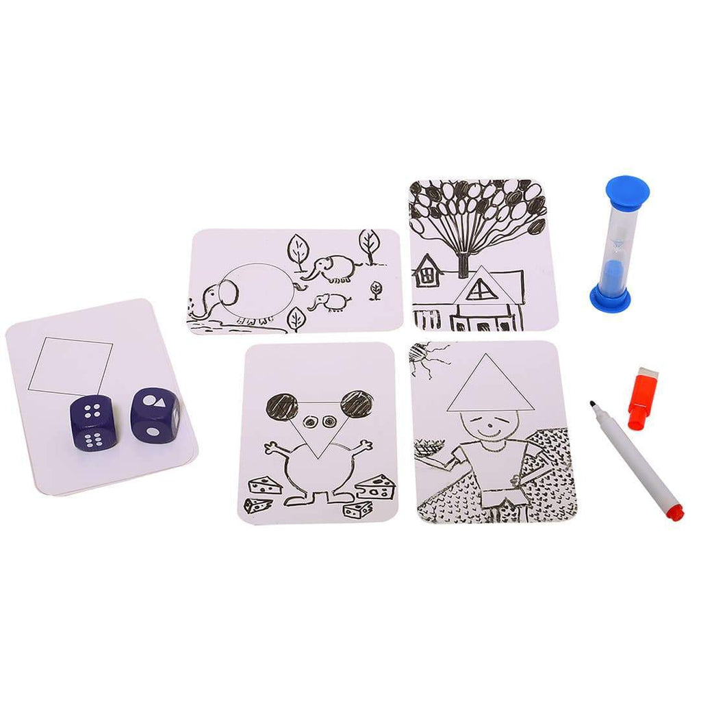 Shape Your Story Dices and Game Cards
