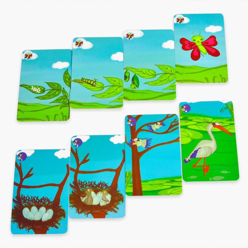Stepping Stones Game Cards