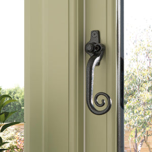 Monkey Tail Locking Window Handle