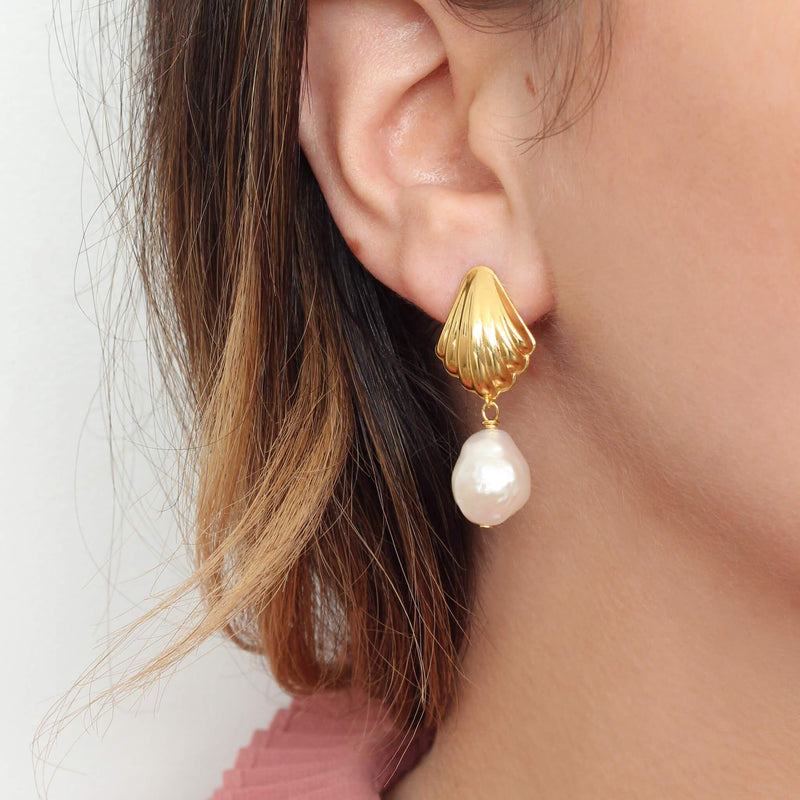 BOTTICELLI EARRINGS GOLD