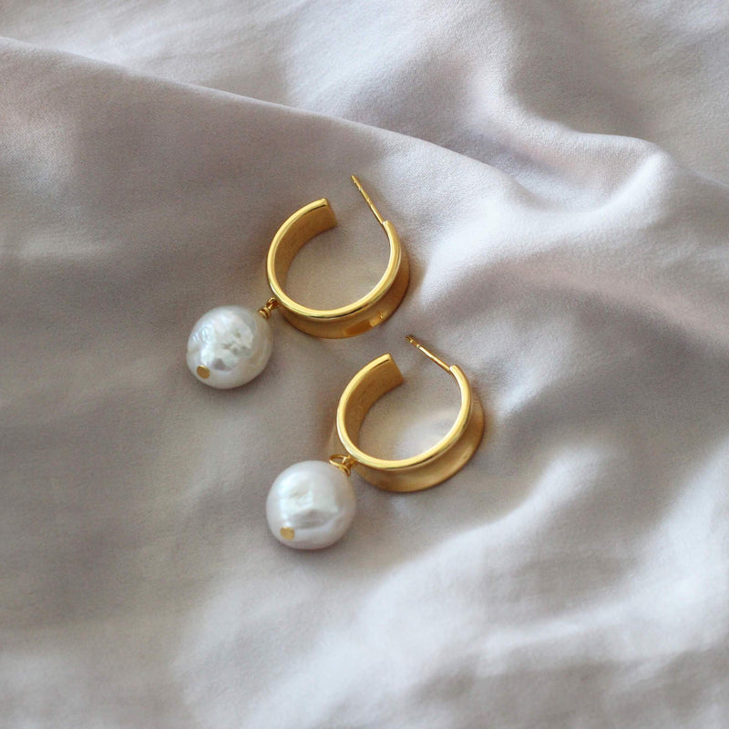 CLIO EARRINGS GOLD