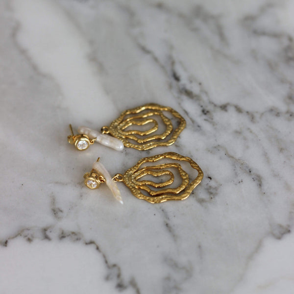 AETNA DROP EARRINGS