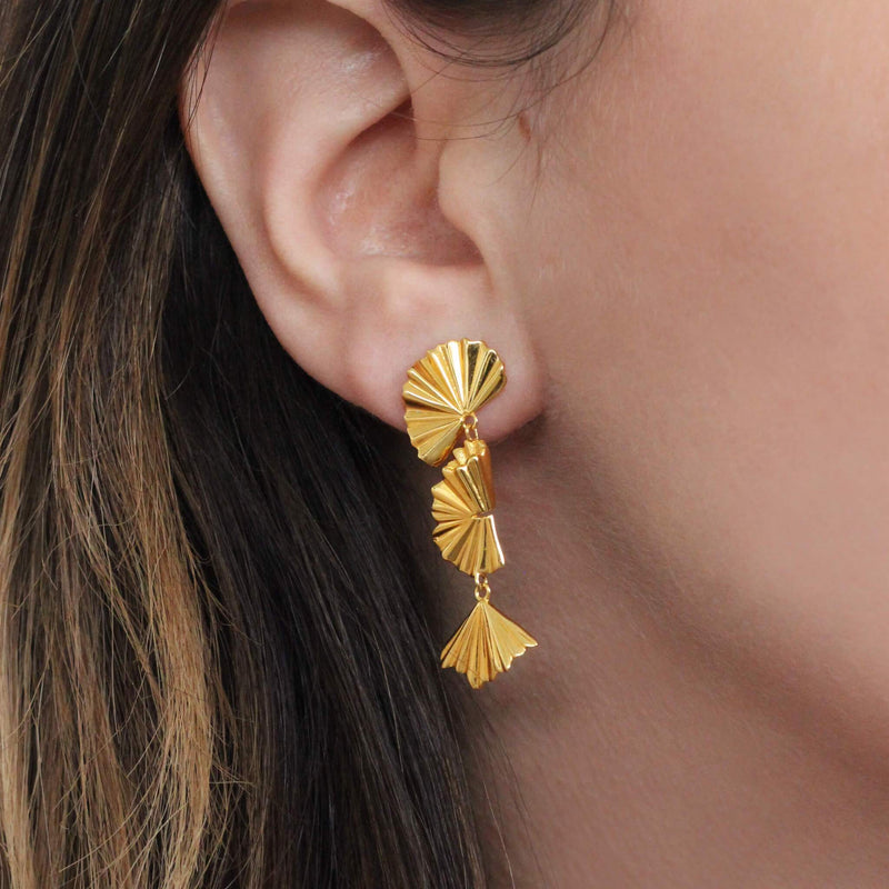 THALIA DROP EARRING GOLD