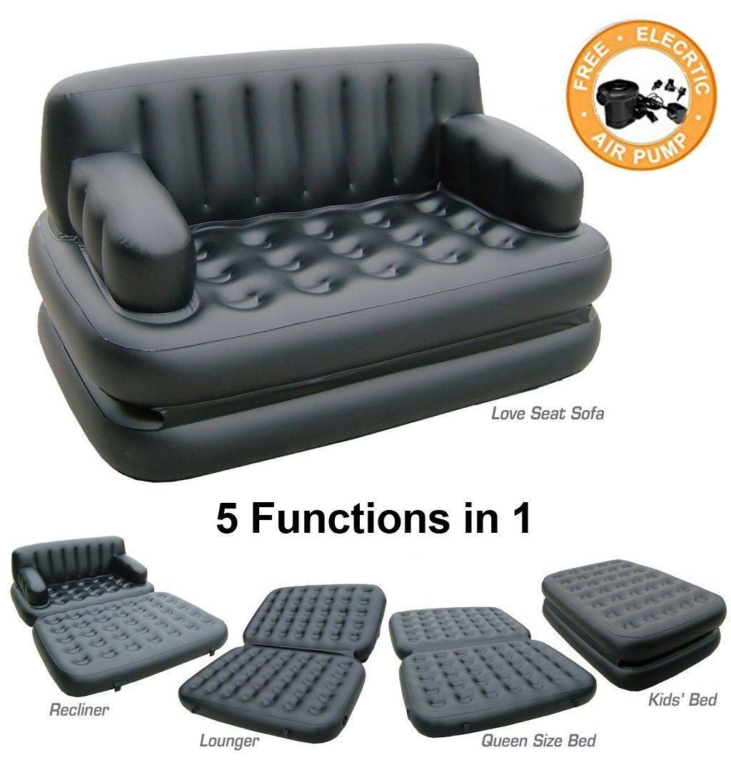 Superbe 5 In 1 Inflatable Sofa Bed