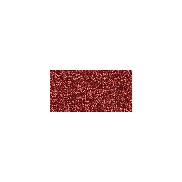 "American Crafts 12x12"" Glitter Cardstock Rouge"