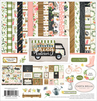 "Carta Bella 12x12"" Collection Kit Spring Market"