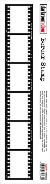 Darkroom Door Border Stamp Filmstrip