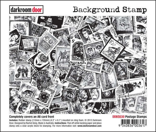 Darkroom Door Background Stamp Postage Stamp