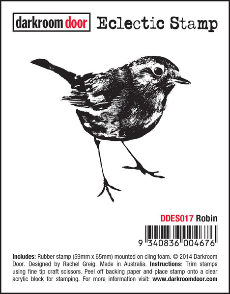 Darkroom Door Eclectic Stamp Robin