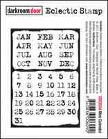 Darkroom Door Eclectic Stamp Mini Calendar