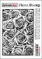 Darkroom Door Photo Stamp Roses
