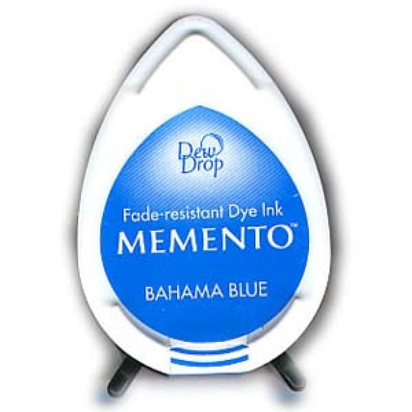 Memento Dew Drop Dye Ink Pad Bahama Blue