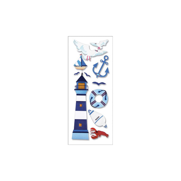 Jolee's Boutique Dimensional Stickers Lighthouse