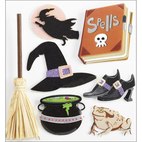 Jolee's Boutique Dimensional Stickers Witches