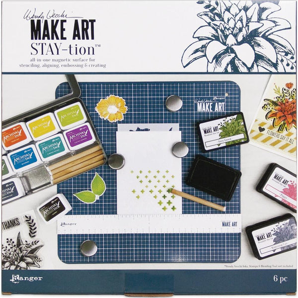 Wendy Vecchi Make Art Stay-tion 12""