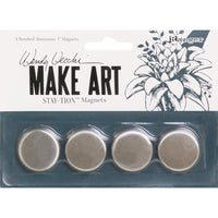 Wendy Vecchi Make Art Stay-tion Magnets 4pce
