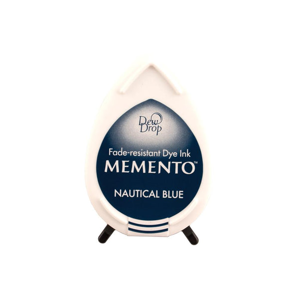 Memento Dew Drop Dye Ink Pad Nautical Blue