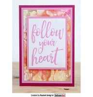 Darkroom Door Quote Stamp Follow Your Heart
