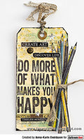 Darkroom Door Quote Stamp Happy