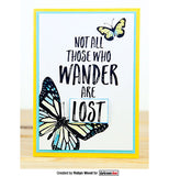 Darkroom Door Quote Stamp Wander