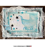 Darkroom Door Rubber Stamp Set Hello Baby Vol 1