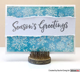 Darkroom Door Rubber Stamp Set Seasons Greetings
