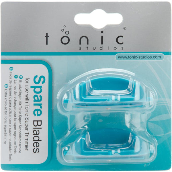 Tonic Studio Super Trimmer Spare Blades 2pce