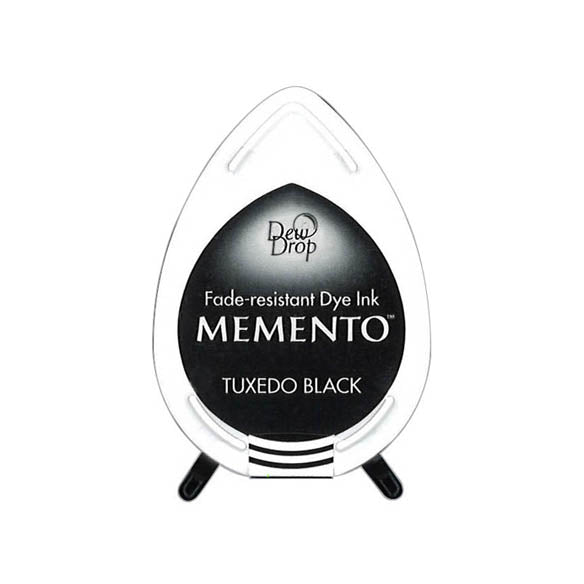 Memento Dew Drop Dye Ink Pad Tuxedo Black