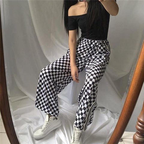 Checker Prints Complete The Look