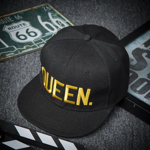 QUEEN-Gold-Edition-Snapback-Cap