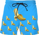 BANANAAAAA Mens Swim Trunks - GetRealFunky.com