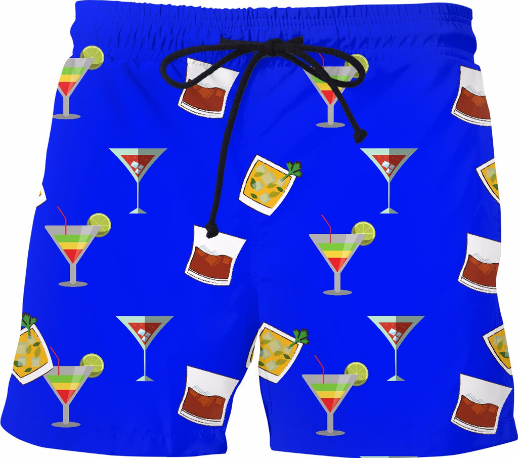 Party Time Mens Swim Trunks - GetRealFunky.com