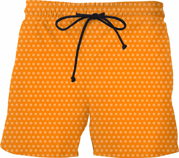 Orange Soda Mens Swim Trunks - GetRealFunky.com