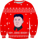 Kim Jong Boom Christmas Sweatshirt - Sweet Satisfaction
