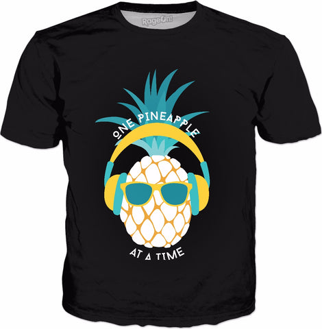 One Pineapple at a Time Unisex Tee - Sweet Satisfaction