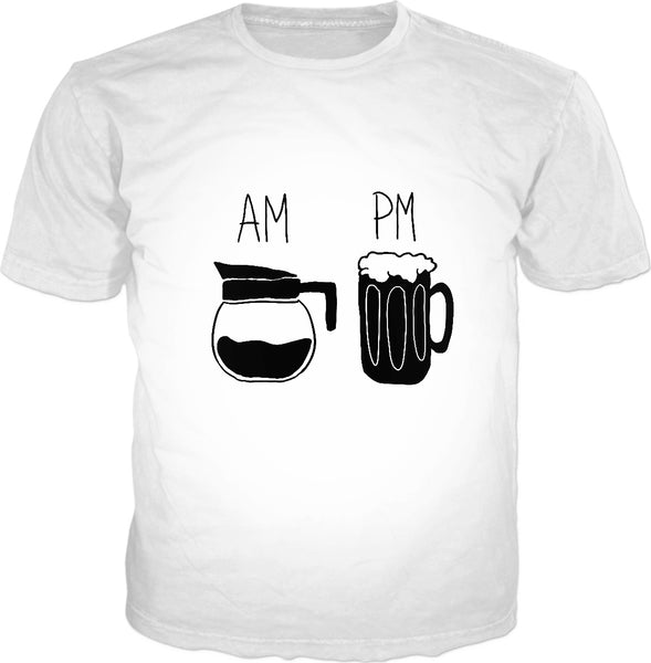 AM PM Beer Unisex Tee