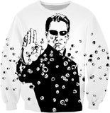 Neo The Number 1 Unisex Sweatshirt - Sweet Satisfaction