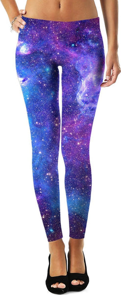 Explore The Universe Womens Leggings - GetRealFunky.com