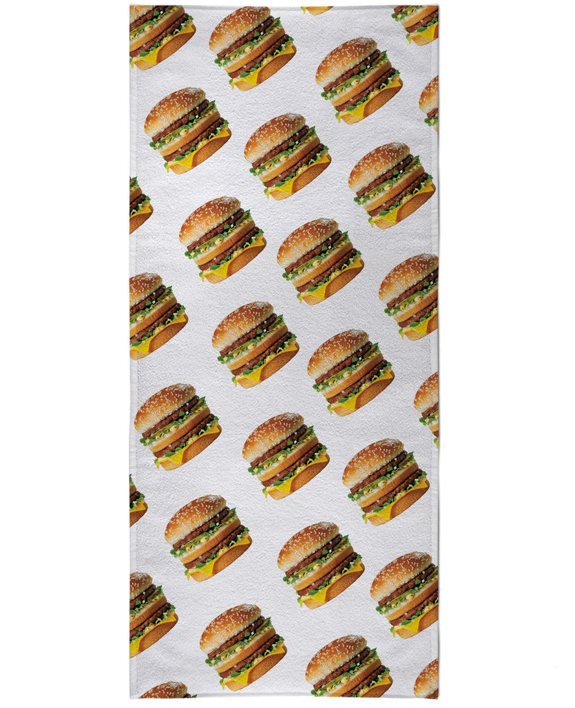 Macky D's Big Mac Beach Towel - GetRealFunky.com