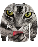 Kitty Lickins Crewneck Sweatshirt