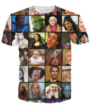 Cage Faces Meme Unisex Tee