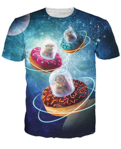 Invaders From Otter Space Unisex Tee - Sweet Satisfaction