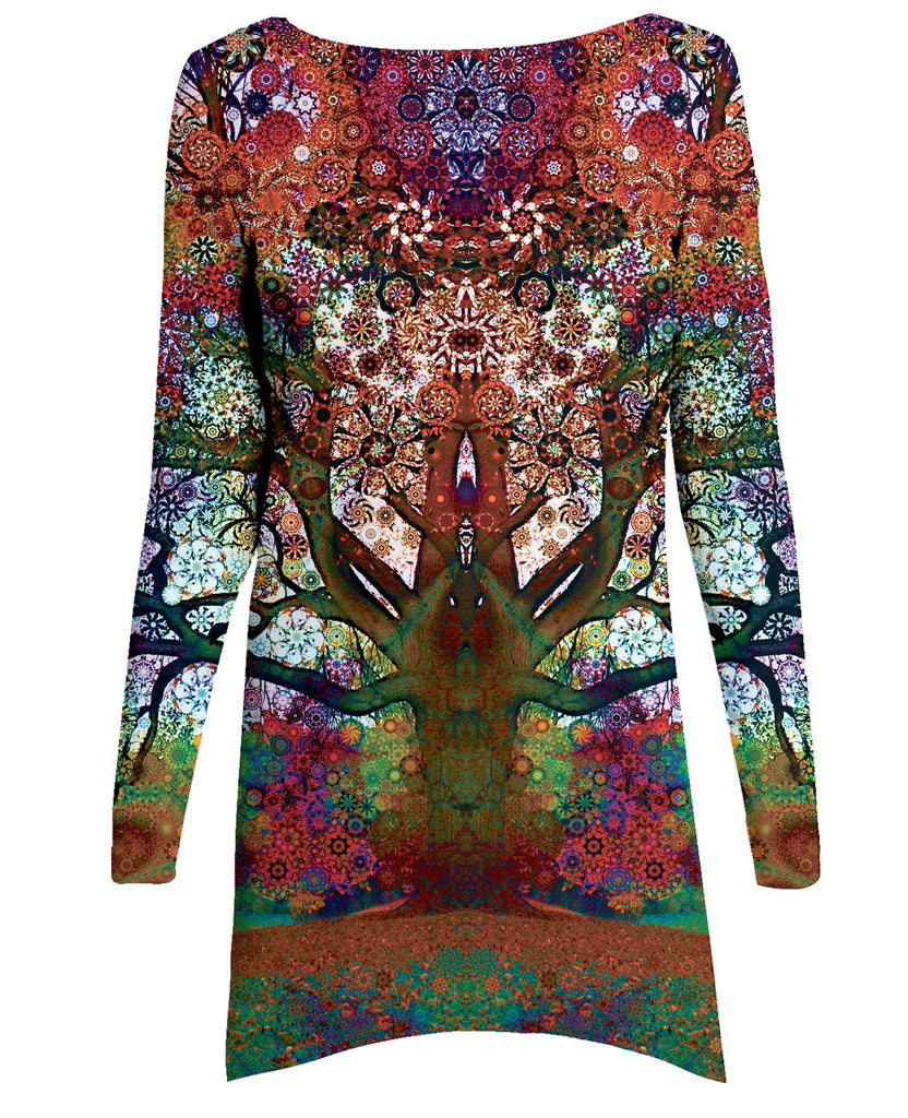 Trip Tree Long-Sleeve Dress