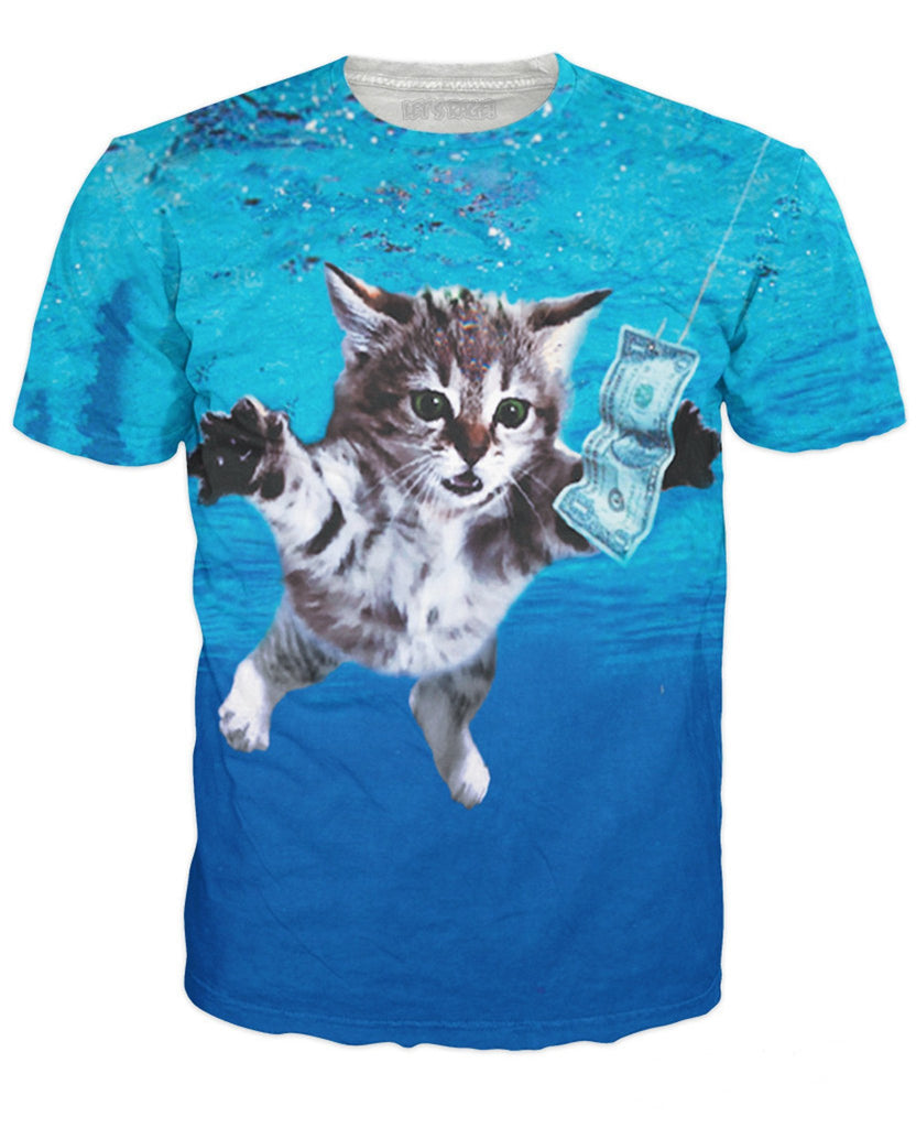 Nevermind Cat Unisex Tee - Sweet Satisfaction