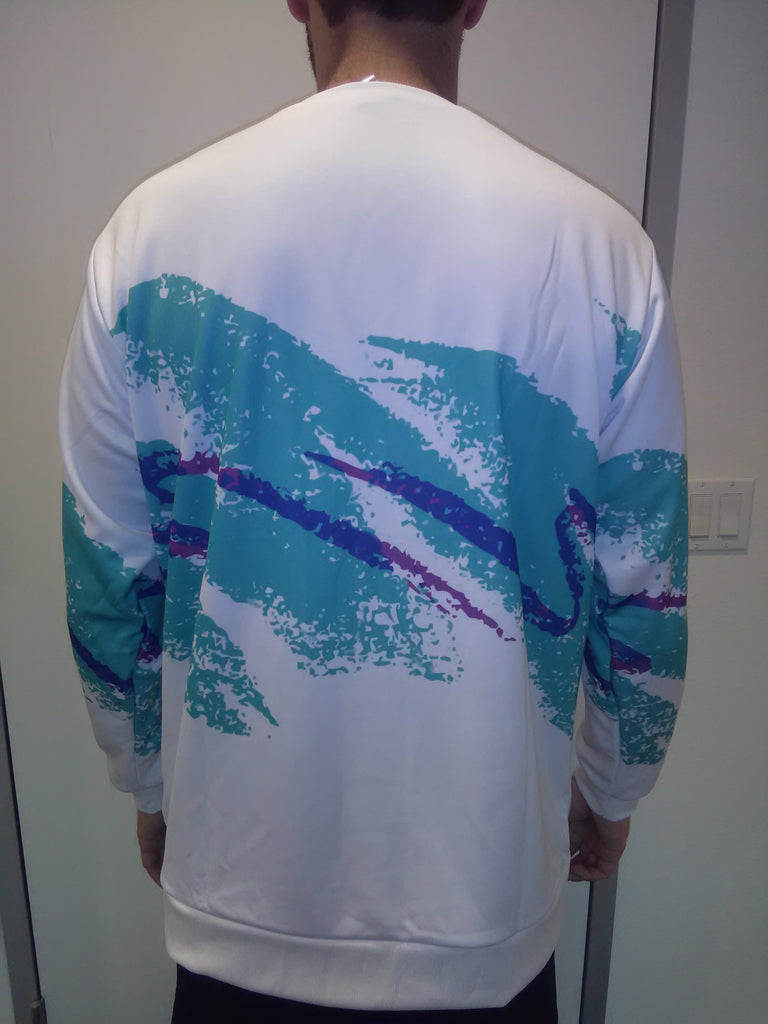 model back 90s Paper Cup Unisex Sweatshirt